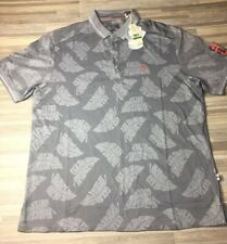 $118 Tommy Bahama San Francisco Giants Men's Sz LARGE Palm Pro Polo Shirt NWT