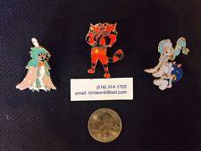 Official Pokemon - Decidueye-Incineroar-Prim arina Gx *3 pin set* In Hand