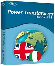 LEC POWER TRANSLATOR 17 STANDARD ITALIANO-INGLESE nuovo