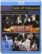 Resident Evil Degeneration + Damnation - Best of Hollywood | 2 Blu-ray Neu New