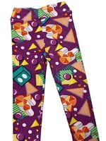Kids Disney LuLaRoe Leggings Size L/XL- hidden Mickey
