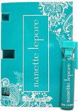 NANETTE LEPORE Eau De Parfum Splash VIAL FOR WOMEN 0.06 Oz / 2 ml BRAND NEW ITEM