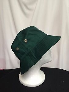 unisex bucket hat polyester cotton forest green 54cm, 56cm, 58cm sew-ezy-austral