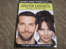 Silver Linings Playbook DVD (2012) Cover: Best Picture of the Year