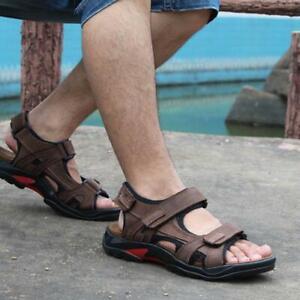 Comfort Men Outdoor Casual Walking Beach Shoes Summer Flat Sandals Slippers