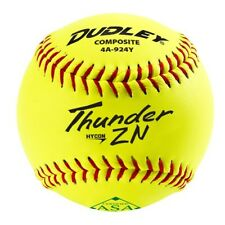 6 Dozen Dudley Zn Series Composite Asa 11 Inch Slowpitch Softballs