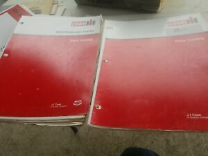 Case IH 8840 Auger Head Windrower Tractor Parts Catalog LOT