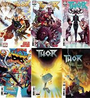 Thor #1 2 3 4 5 6 7 8 9 - 14 run Marvel Comics 2018 1st Print NM