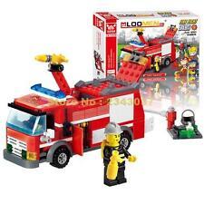NEW Kazi 8054 Fire Truck Blocks 206pcs Bricks Building Blocks Toys For Children