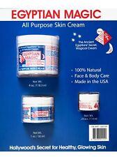 Egyptian Magic All-Purpose Skin Cream Face & Body 100% Natural, 5.25 Ounces