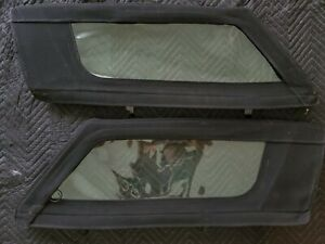 A pair of Dodge Viper Windows
