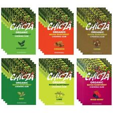 Chicza Organic Chewing Gum - 6 x 30g