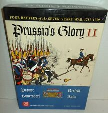 Boxed BOARD WAR GAME Prussia's Glory II Frederick the Great 4-Battles GMT op '06