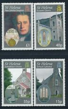 2009 ST HELENA DIOCESE CHURCHES SET OF 4 FINE MINT MNH