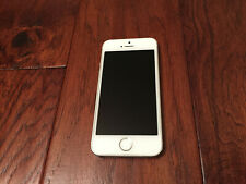 Apple iPhone 5s - 16GB - Silver (Unlocked) A1533. Excellent Condition
