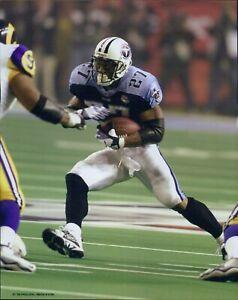 Eddie George Tennessee Titans NFL Football Unsigned Glossy 8x10 Photo B