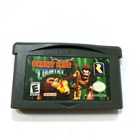 Donkey Kong Country Nintendo Gameboy Advance GBA Game - Tested Working Authentic