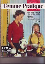 Femme pratique - Numero 1 - automne 1958