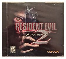 Resident Evil 2: Platinum (PC, 1999) Brand New Sealed - Free U.S. shipping -Nice