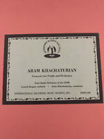 Leonid Kogan Khachaturian Concerto for Violin IRMS-1300 (VG+) DG
