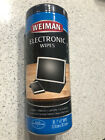 Weiman Anti-Static Electronic Cleaning Wipes For Touch Screens Phones Tablets TV