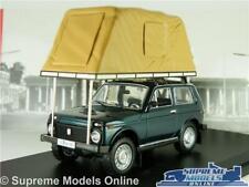 LADA NIVA MODEL CAR ROOF TENT GREEN 1:43 SCALE IXO CAMPER CAMPERVAN 1981 IST K8