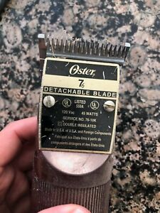 Oster 76 with blades antique clippers hair works