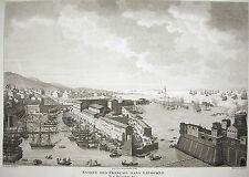 Entrée des français dans Livourne bataille Napoléon Bonaparte 1815 Carle Vernet