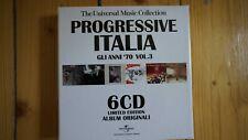 Progressive Italia Gli Anni 70 Vol.3 6 CD Box Set