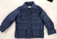Prada Lr Padded Jacket Ladies Navy UK Size 10 (42) *REF97