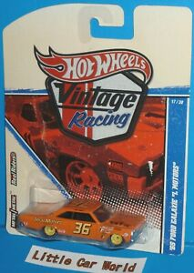 "HOT WHEELS Vintage Racing '65 Ford Galaxie ""I Motors"" Imai Real Riders 17/30"
