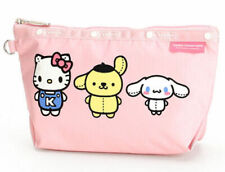 Lesportsac G740 Hello Kitty and Friends Medium Sloan Cosmetic Makeup Bag Pouch