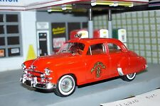 1950 Chevrolet Fire Chiefs Car, 1/43, Made in France