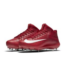 NIKE FORCE ZOOM TROUT 3 METAL BASEBALL CLEATS RED 856503-667 MEN 8 $140
