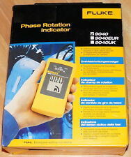 FLUKE 9040 PHASE ROTATION INDICATOR METER TESTER 3 PHASE 10-700VAC NEW