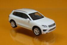Herpa 028479-002 Volkswagen VW Touareg - Pure White