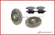 SAAB 9-3 1.9 TiD 02-09 anteriore e posteriore Increspato Scanalato Dischi Freno /& Mintex Pastiglie