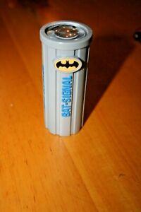 Vintage 1997 Taco Bell Batman Bat Signal Light Toy Flashlight DC Comics-Used
