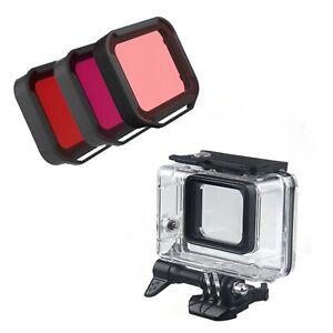 Waterproof Housing Dive with Filter Kit for GoPro Hero5 6 7 Black