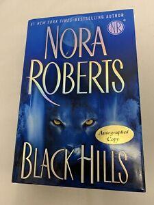 Black Hills Nora Roberts 2009 1st Edition Animal Sanctuaries SIGNED Like New
