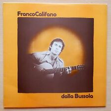FRANCO CALIFANO dalla Bussola LP MINT 1975