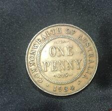 1934 Australian Penny