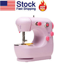 Portable Electric Sewing Machine Desktop Household Tailor 2-Speed Foot Pedal New