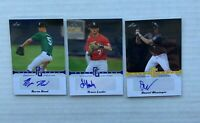 2013 Leaf Lot Trace Loehr Hood Wasinger Perfect Showcase Blue Yellow /25 /50