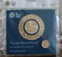 """2016 Royal Mint Last Round £1 pound coin pack  """"Brilliant Uncirculated"""""""