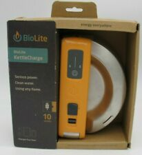 NEW BioLite KettleCharge Kettle Charge Electricity-Generating Camping Charger
