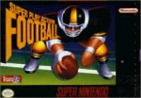 Super Play Action Football Super Nintendo Game SNES Used