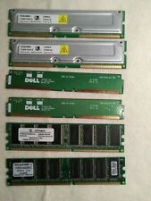 PC RAM CARD, Lot Of (6) See Description For Details
