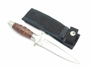 Vtg Valor Miami Seki Japan 407 Short Commando Fixed Blade Dagger Boot Knife
