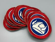 1950s Us Army 47th Infantry Division Cut Edge Ssi Patch Lot x10 Xlnt Unsewn 952U
